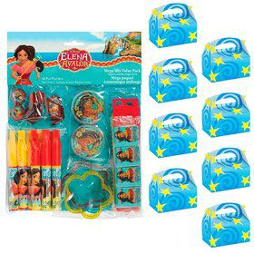 Elena of Avalor Filled Favor Box Kit (For 8 Guests)