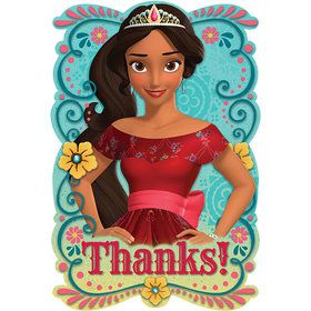 Elena of Avalor Postcard Thank Yous (8 Count)