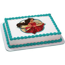 Elena of Avalor Quarter Sheet Edible Cake Topper (Each)