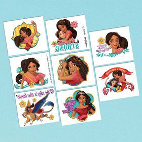 Elena of Avalor Tattoo Sheet