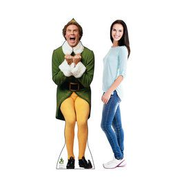 Elf Excited - Will Ferrell (Elf) Cardboard Standup
