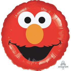 "Elmo Smiles 18"" Foil Balloon"