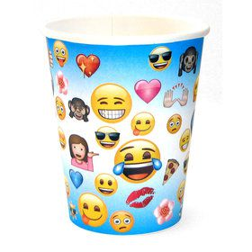 Emoji 9oz Cups (8 Count)