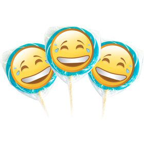 Emoji LOL Faces Lollipop Kit (12 Pack)
