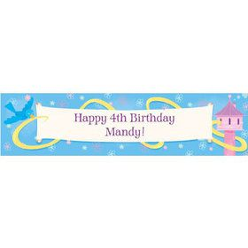 Enchanted Tower Personalized Banner (each)