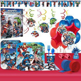 Epic Avengers Ultimate Tableware Kit (For 8 Guests)