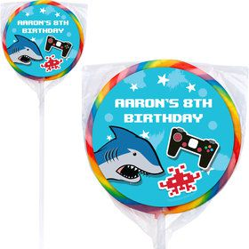 Epic Birthday Personalized Lollipops (12 Pack)