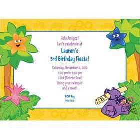 Explorer Friends Personalized Invitation (each)