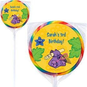 Explorer Friends Personalized Lollipops (pack of 12)
