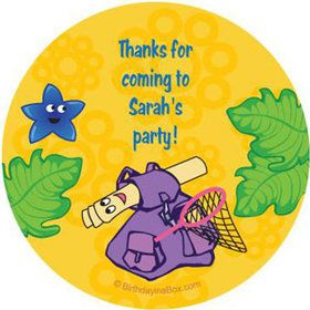 Explorer Friends Personalized Stickers (sheet of 12)