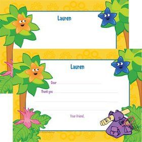 Explorer Friends Personalized Thank You Note (each)