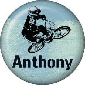 Extreme Sports Personalized Mini Button (Each)