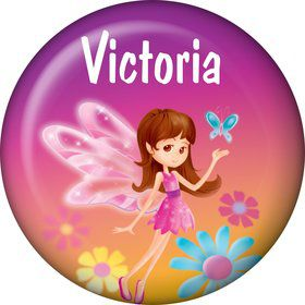 Fairy Birthday Party Personalized Mini Magnet (each)
