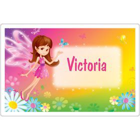 Fairy Birthday Party Personalized Placemat (each)