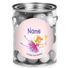 Fairy Party Personalized Mini Paint Cans (12 Count)