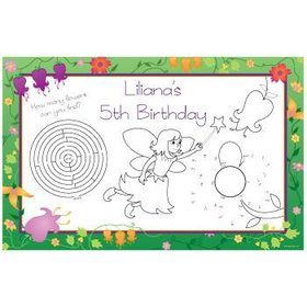 Fairy Personalized Activity Mats (8-pack)
