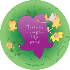 Fairy Personalized Stickers (sheet of 12)