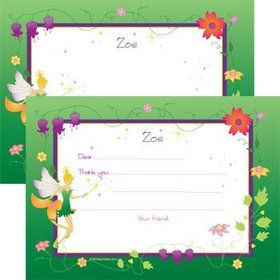 Fairy Personalized Thank You Note (each)