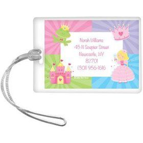 Fairytale Princess Personalized Luggage Tag (each)