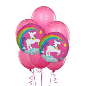 Fairytale Unicorn 8 pc Balloon Kit