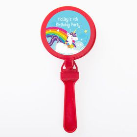 Fairytale Unicorn Personalized Clappers (Set of 12)