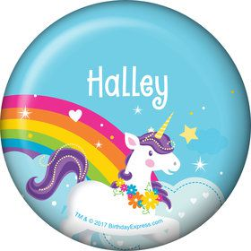 Fairytale Unicorn Personalized Mini Magnet (Each)