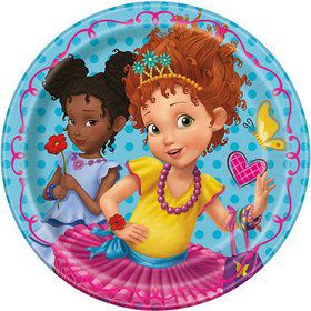 Fancy Nancy 7 Round Dessert Plates (8)