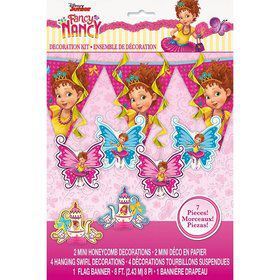 Fancy Nancy Decor Kit (7pcs)