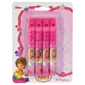 Fancy Nancy Mini Flute Favors (4)