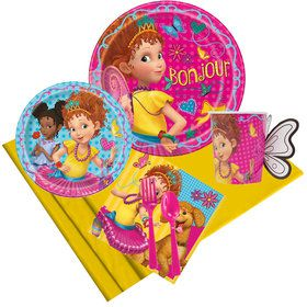Fancy Nancy Party Pack for 8