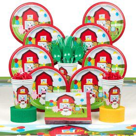 Farmhouse Deluxe Tableware Kit (Serves 8)