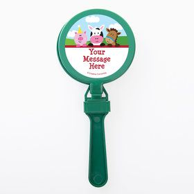 Farmhouse Fun Personalized Clappers (Set of 12)