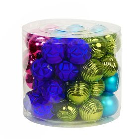 Fashion Bright Ornament Assortment (48)