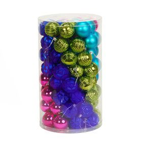 Fashion Bright Ornament Assortment (96)