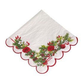 Festive Shaped Lunch Napkins (16)