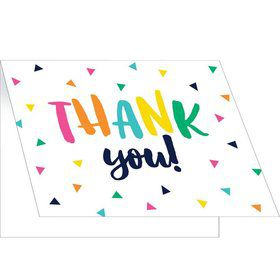 Fiesta Fun Grad Folded Thank You Cards (8)