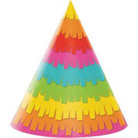 Fiesta Fun Party Hats (8)