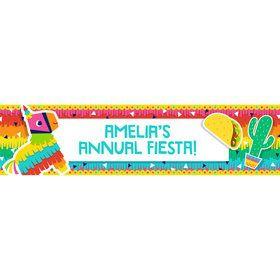 Fiesta Fun Personalized Banner (Each)
