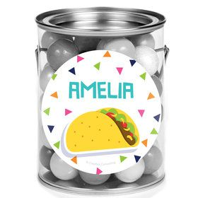 Fiesta Fun Personalized Mini Paint Cans (12 Count)