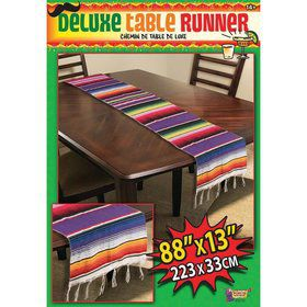 Fiesta Serape Table Runner