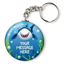 "Fin Fun Personalized 2.25"" Key Chain (Each)"