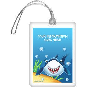 Fin Fun Personalized Bag Tag (Each)