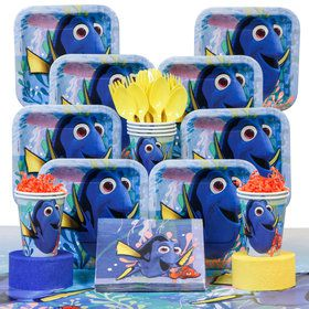 Finding Dory Deluxe Birthday Party Tableware Kit (Serves 8)