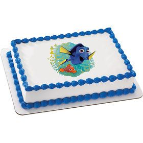 Finding Dory Quarter Sheet Edible Cake Topper (Each)