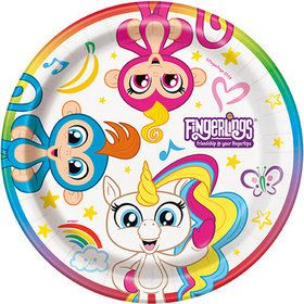 "Fingerlings 7"" Plates (8)"