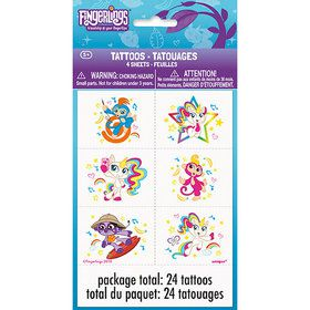 Fingerlings Tattoo Sheet (4)