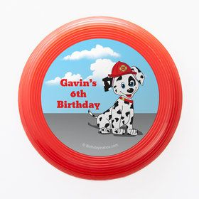 Fire Truck Personalized Mini Discs (Set of 12)