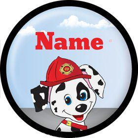 Fire Truck Personalized Mini Magnet (Each)