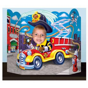 Fire Trucks Photo Prop