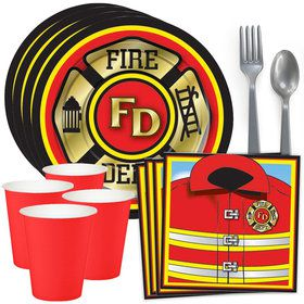 Firefighter Party Standard Kit (Serves 8)